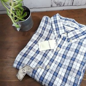 NWT Lucky Brand | Linen Buttondown | Sz Small
